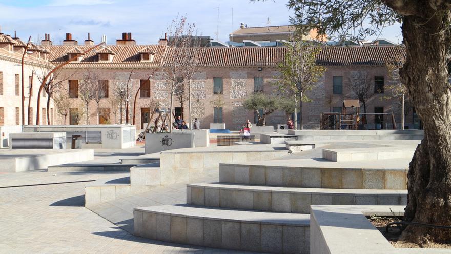 La plaza de San Fernando de Henares
