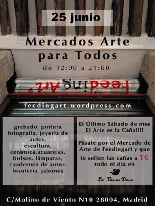 cartel de mercados 25 JUNIO