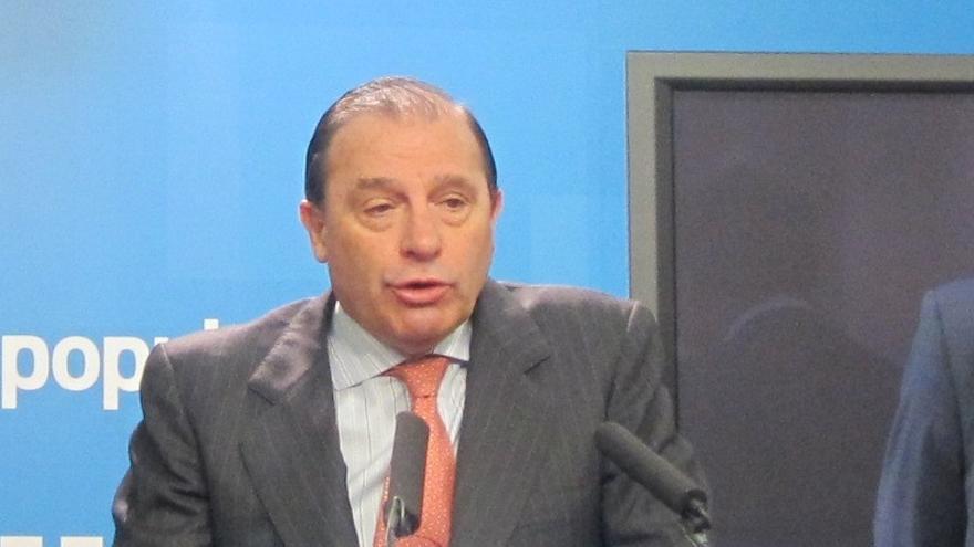 """Pujalte (PP), partidario de evitar a la Infanta el 'paseíllo': """"La justicia con espectáculo no es justicia"""""""