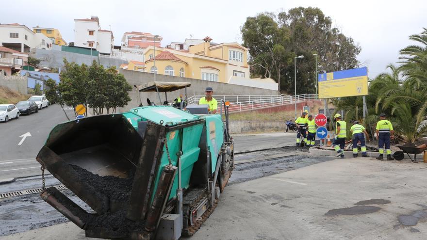 La empresa que realiza los trabajos asegura que el plazo de entrega de la obra terminada es el 28 de Abril.