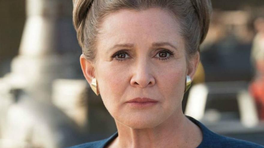 'Star Wars: Episodio IX' resucita de nuevo a Carrie Fisher como la capitana Leia Organa