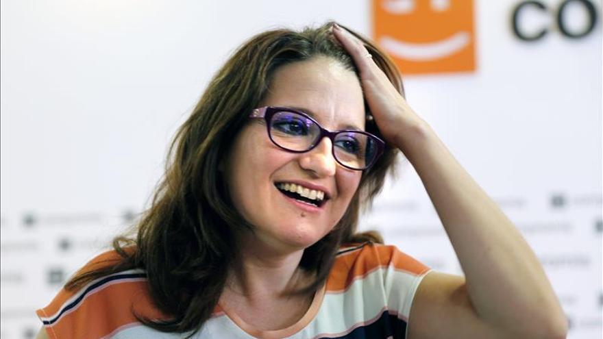 Mónica Oltra (Compromís) afirma que aspira a ser presidenta de la Generalitat