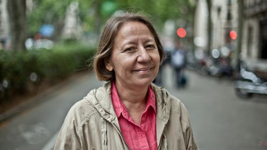 La feminista nicaragüense María Teresa Blandón es directora del programa 'La corriente'. | Imagen cedida a eldiario.es