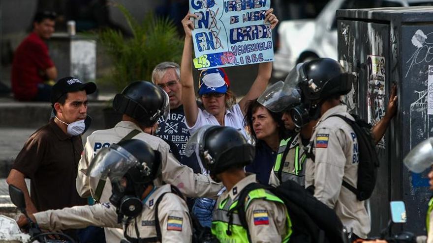 """La CIDH condena los operativos de """"represión"""" de las fuerzas de seguridad en Venezuela"""