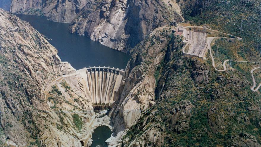 Central hidroeléctrica de Iberdrola en Aldeadávila, Salamanca. Foto: Iberdrola