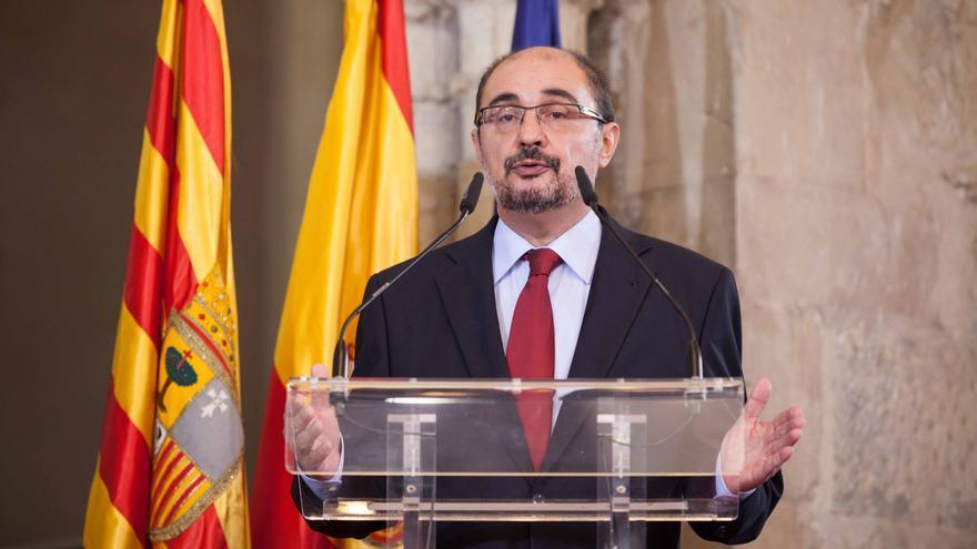 El presidente de Aragón en funciones, Javier Lambán, en una imagen de archivo