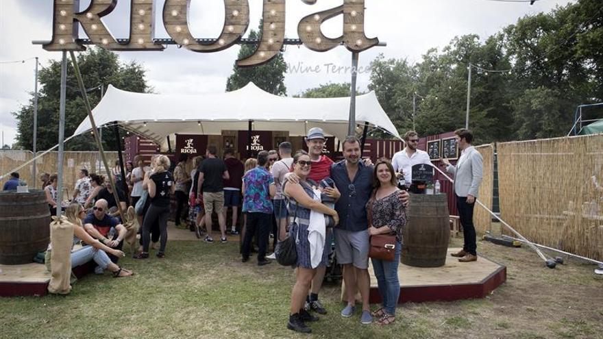 Rioja acerca sus vinos a la juventud británica en el festival musical de Citadel