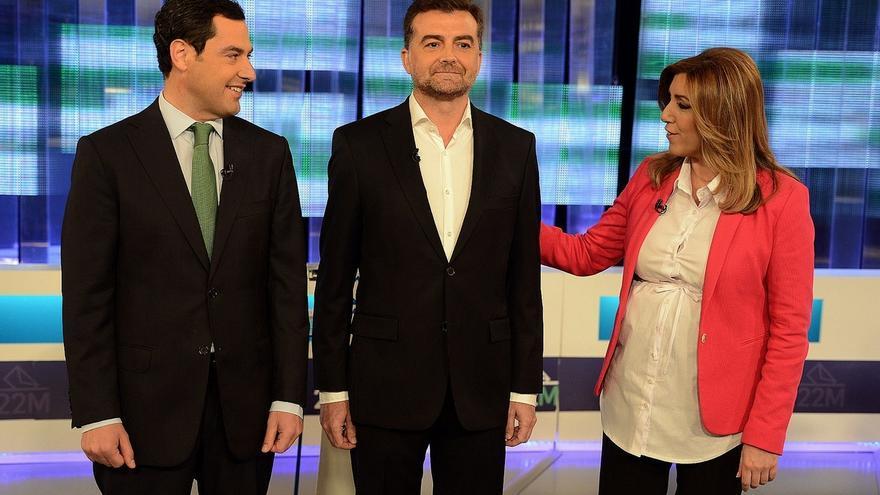 El 43,6% cree que Susana Díaz demostró ser la mejor preparada para gobernar en el debate de RTVA, según un sondeo