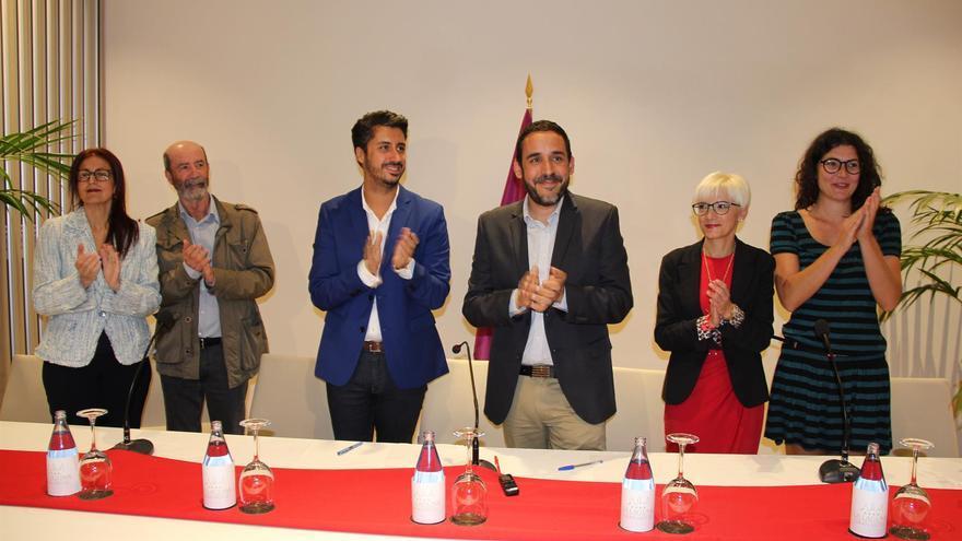 El nuevo equipo de gobierno en el Ayuntamiento de La Laguna