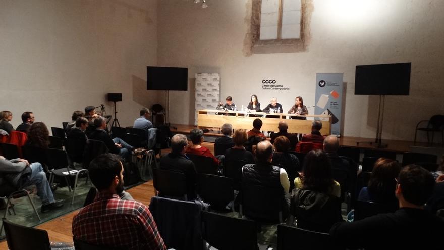 Debate sobre periodismo de investigación organizado por la Institució Alfons el Magnànim.