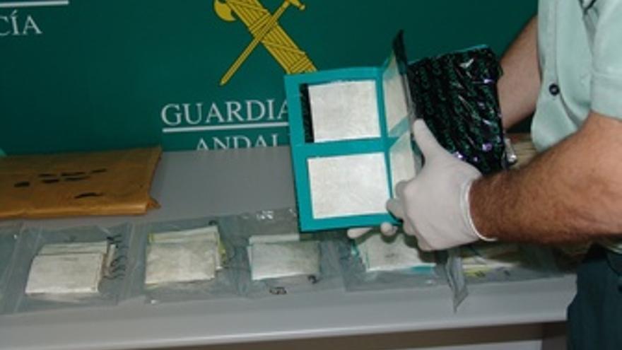 Cocaína Incautada En La Operación