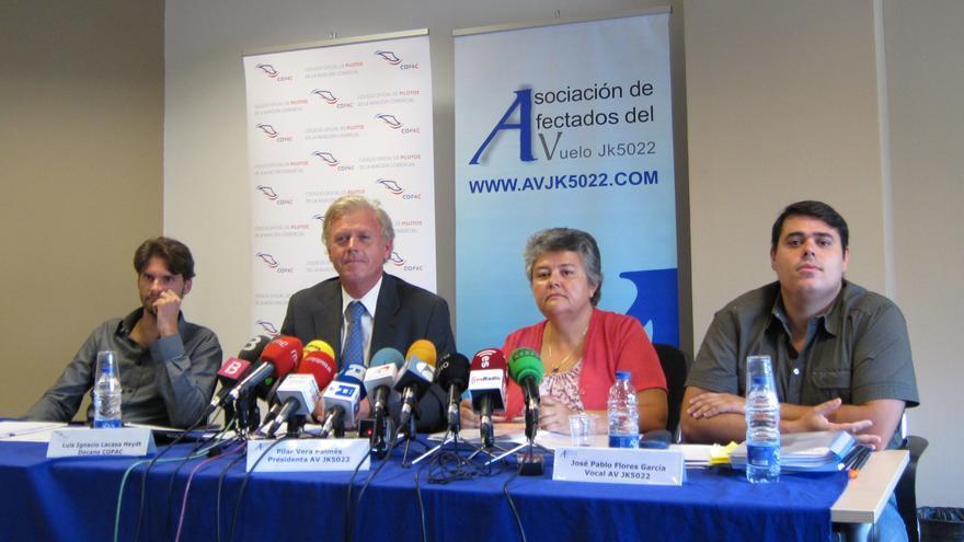 """El Copac critica que no se quiera indagar en la """"cadena de responsabilidades"""" del accidente de Spanair"""