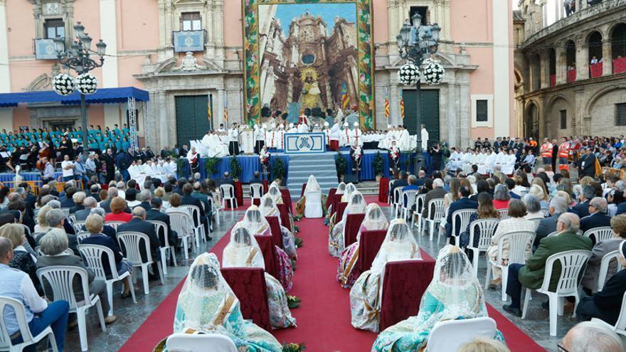 Imagen de la Missa d'Infants de València celebrada por Cañizares