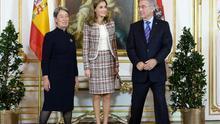 Doña Letizia lleva Velázquez a Viena en su primer viaje sola como Reina