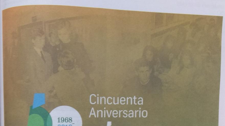 Publicidad institucional publicada con motivo del 50º cumpleaños de Felipe de Borbón.