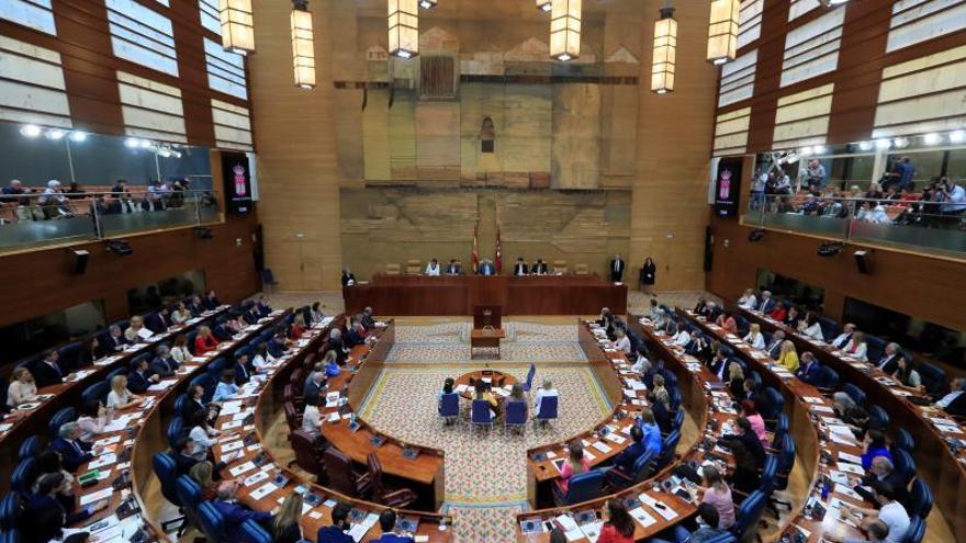 Vista general de la Asamblea de Madrid.