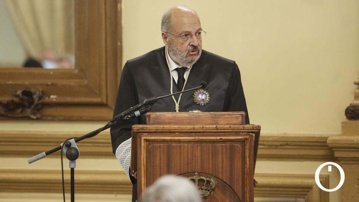 Celebración de toma de posesión de la Junta de Gobierno y el nuevo decano del Colegio de Abogados de Córdoba, Carlos Arias