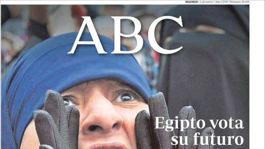 De las portadas del día (28/11/2011) #5