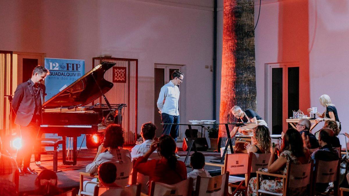 Maridaje único de gastronomía, música y cerámica en el Festival de Piano Guadalquivir