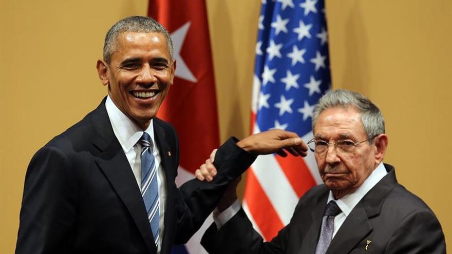 "Obama asegura convencido que el embargo sobre Cuba ""va a terminar"""