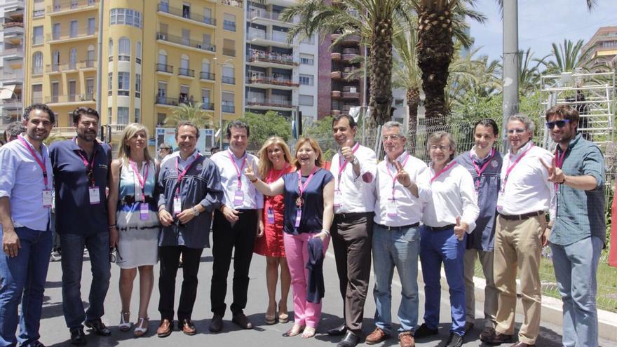 Isabel Bonig ha visitado Alicante junto a Fernando Martínez-Maíllo