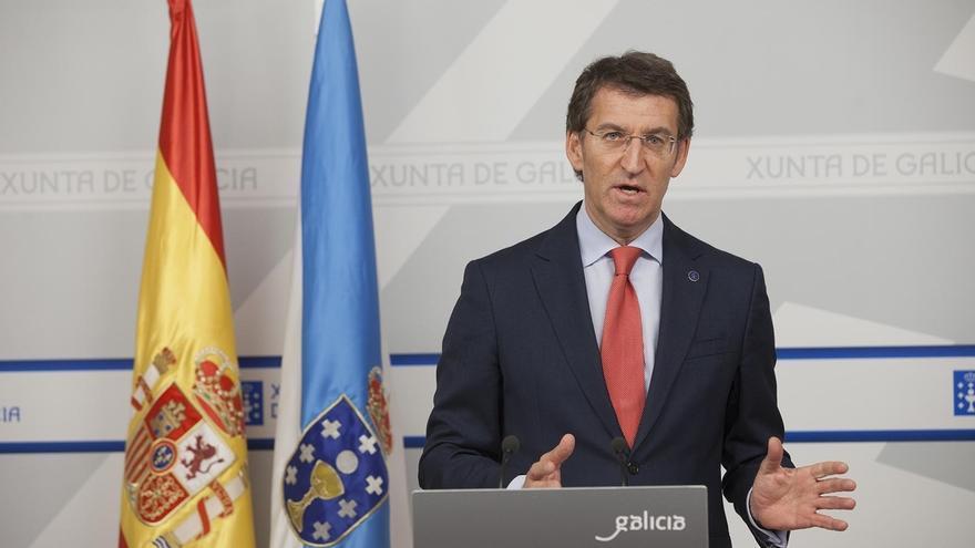 """Feijóo respalda a Rajoy y dice que Mas no hubiese metido en un """"lío existencial"""" a Cataluña si tuviese """"mesura"""""""