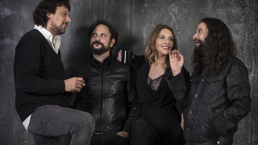 Rocío Márquez, Fahmi y Rami Alqhai y Agustín Diassera