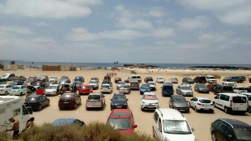 CC pide al Cabildo de Fuerteventura alternativas seguras para las acampadas