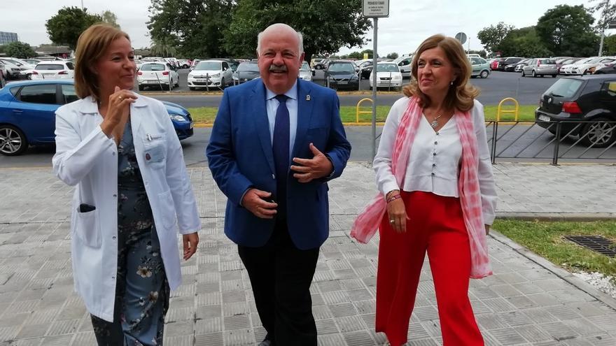 Jesús Aguirre anuncia 1.800 contrataciones más en el SAS, que se suman a las 2.750 nuevas ya realizadas