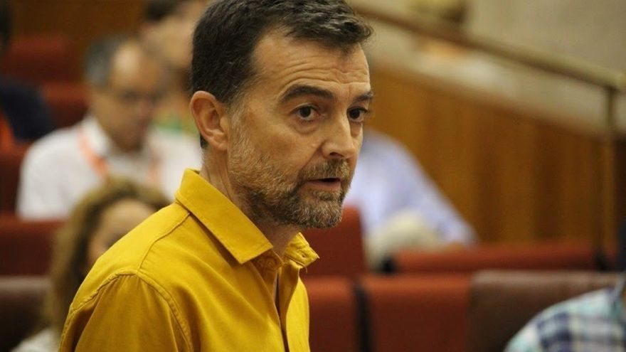 """Maíllo (IU) pide un """"firme rechazo"""" desde Andalucía a la aplicación del 155, que """"echa gasolina al fuego"""""""
