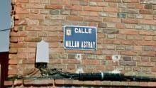 La Plataforma Millán Astray se opone a la retirada de una calle de León con el nombre del fundador de la Legión y pide una reunión con el alcalde