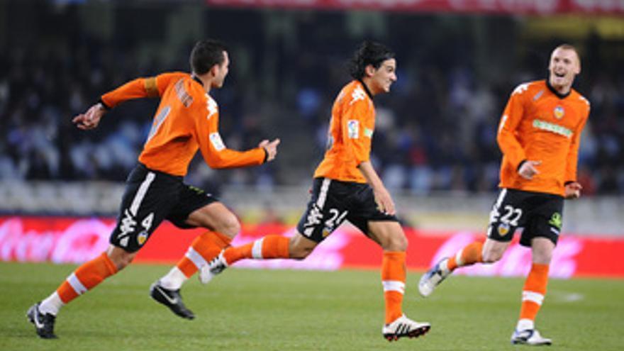 El Valencia renace en Anoeta