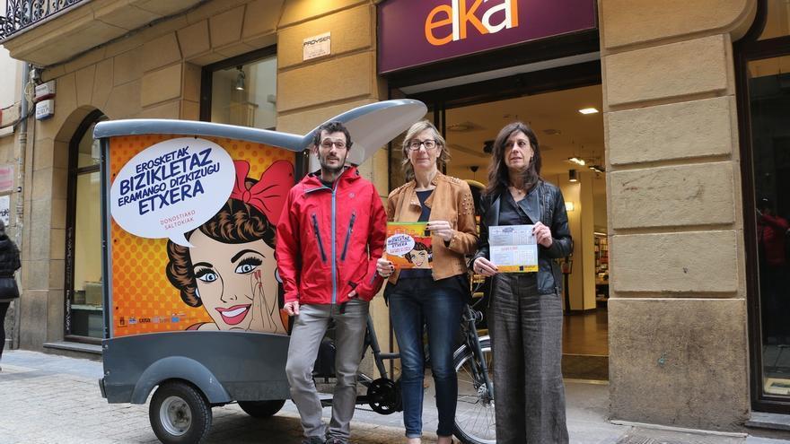 Ayuntamiento de San Sebastián pondrá en marcha, del martes al 22 de abril, un servicio de entrega de compras a domicilio