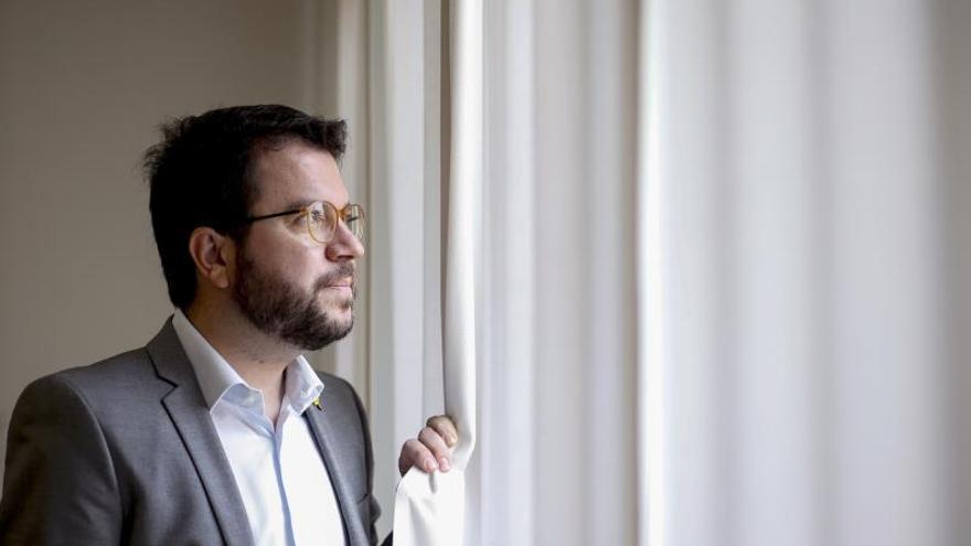 """Aragonès no descarta un """"Govern de concentración"""" o elecciones tras la sentencia"""