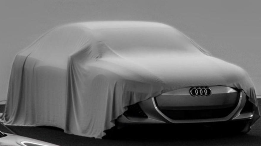 El futuro Audi A5 e-tron.