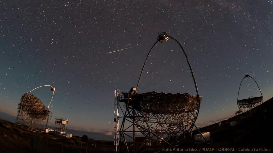 Noche mágica en El Roque con la lluvias de las Perseidas
