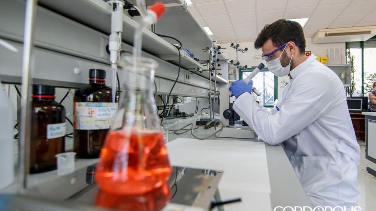 Investigadores de la UCO que analizan aguas residuales en busca de Covid   ÁLEX GALLEGOS