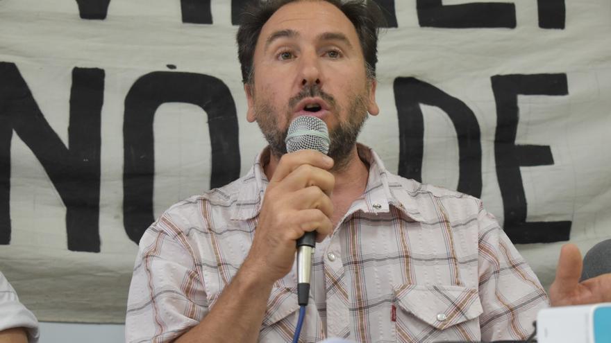 Diego Montón, referente de la Mesa Agroalimentaria.