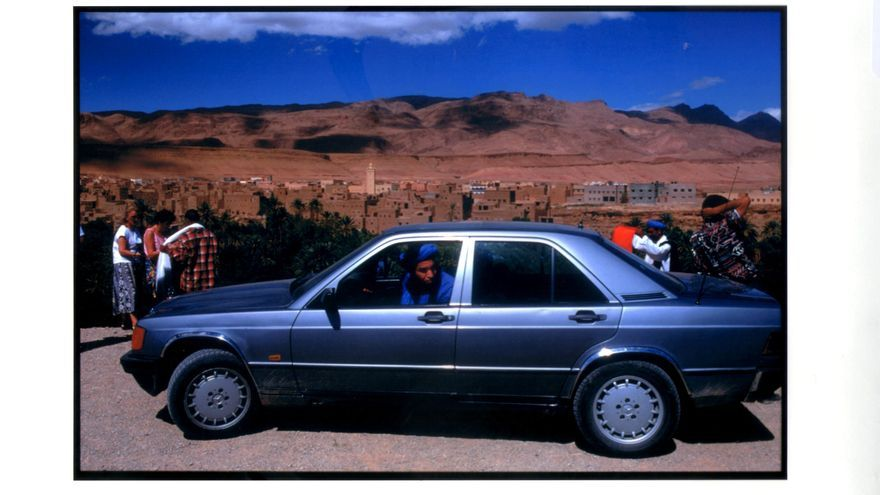 De camino hacia el desierto en un lugar indeterminado entre Marrakech y Zagora / C. P.