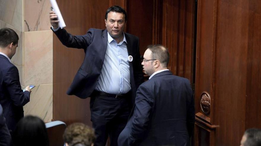 El Tribunal Constitucional macedonio suspende la campaña electoral