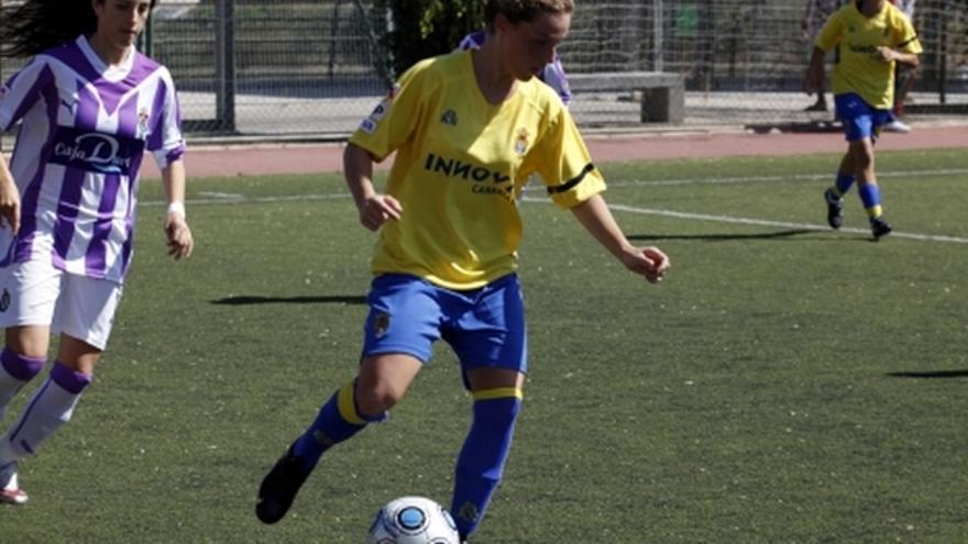 Del partido de la UD Las Palmas y Real Valladolid de la Liga femenina #3
