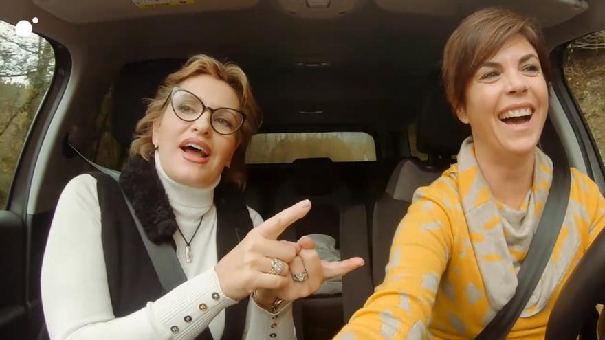 Ainhoa Arteta y Samanta Villar en Cuatro