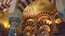 Vista interior de la Mezquita-Catedral de Córdoba