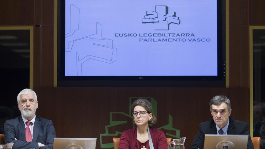 Jonan Fernández, este miércoles en el Parlamento Vasco