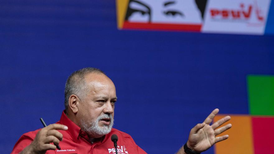Cabello liderará el comando de campaña chavista para las elecciones de noviembre