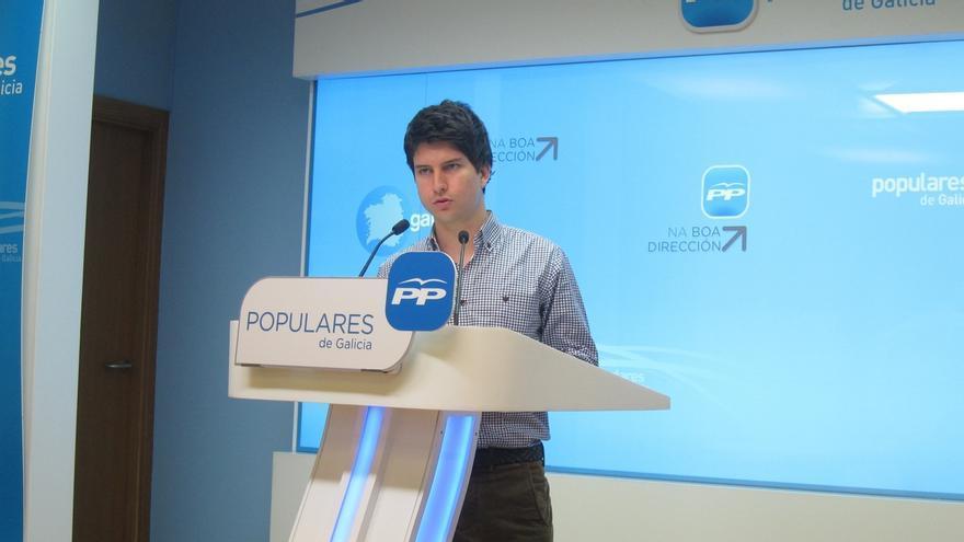 Diego Gago, concejal del PP en Vigo, será el nuevo presidente de Nueva Generaciones en el congreso de abril