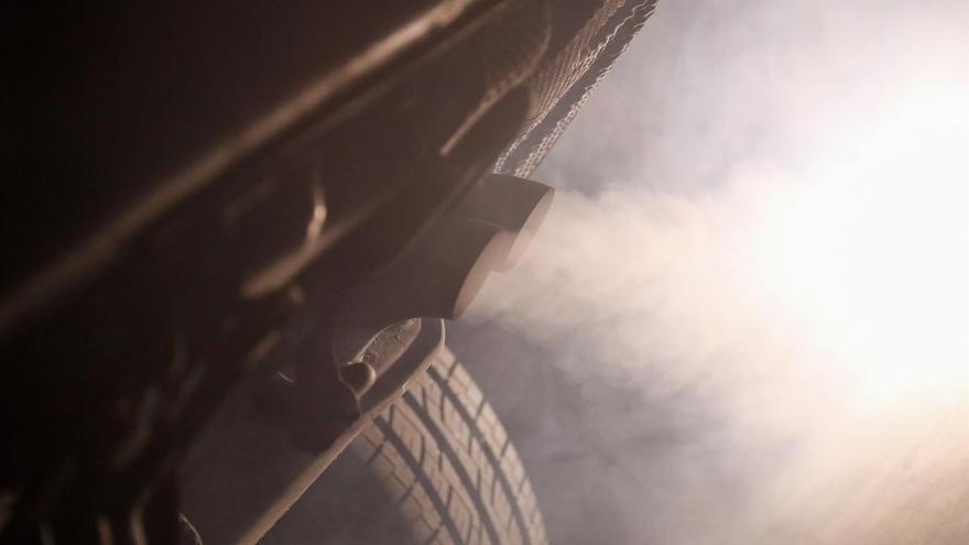 Imagen de archivo de un vehículo contaminante.
