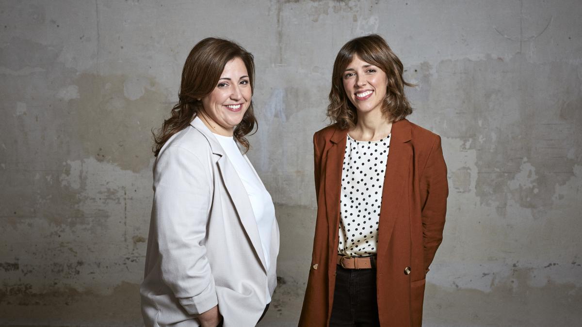 María Álvarez y Elena García, fundadores de La Francachela