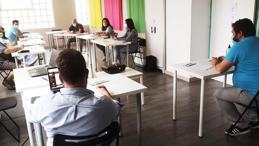 Reunión Aespecan, plataforma empresarial ocio educativo.