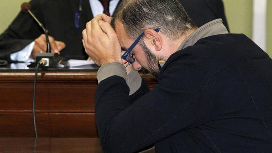 Iván R.A. durante la lectura del veredicto del jurado popular. EFE/Elvira Urquijo A.